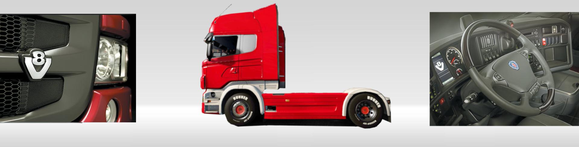 foto camion adorno
