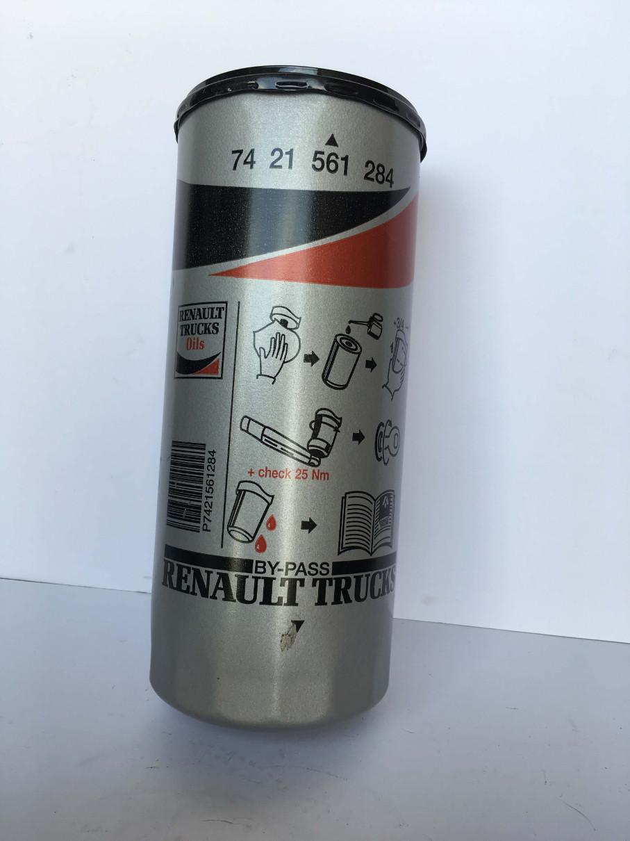 Filtro aceite RENAULT 7421561284 by pass recambios originales volvo man scania es talleres scaortiz minglanilla españa scaortiz.com  - Filtro aceite RENAULT by-pass