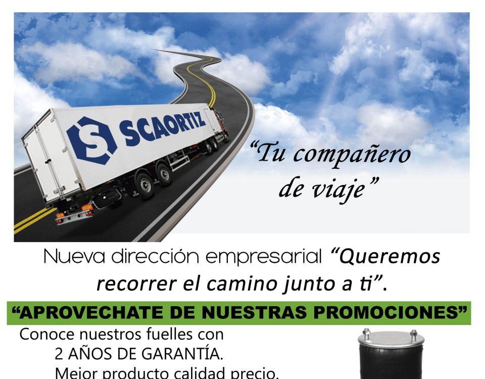 Fuelles camión SCAORTIZ calidad garantía recambios para camiones