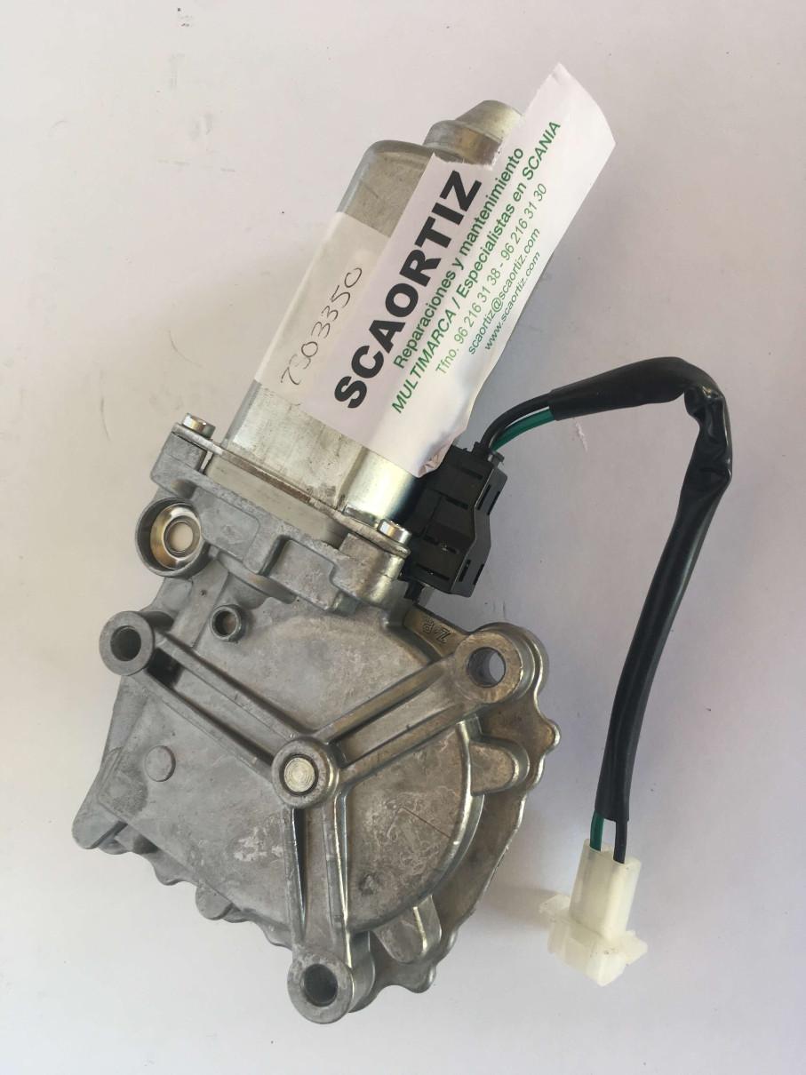 Motor elevalunas para SCANIA 2505350 recambios originales volvo man scania es talleres scaortiz minglanilla españa scaortiz.com  - Motor de elevalunas para SCANIA. Referencia 2503350
