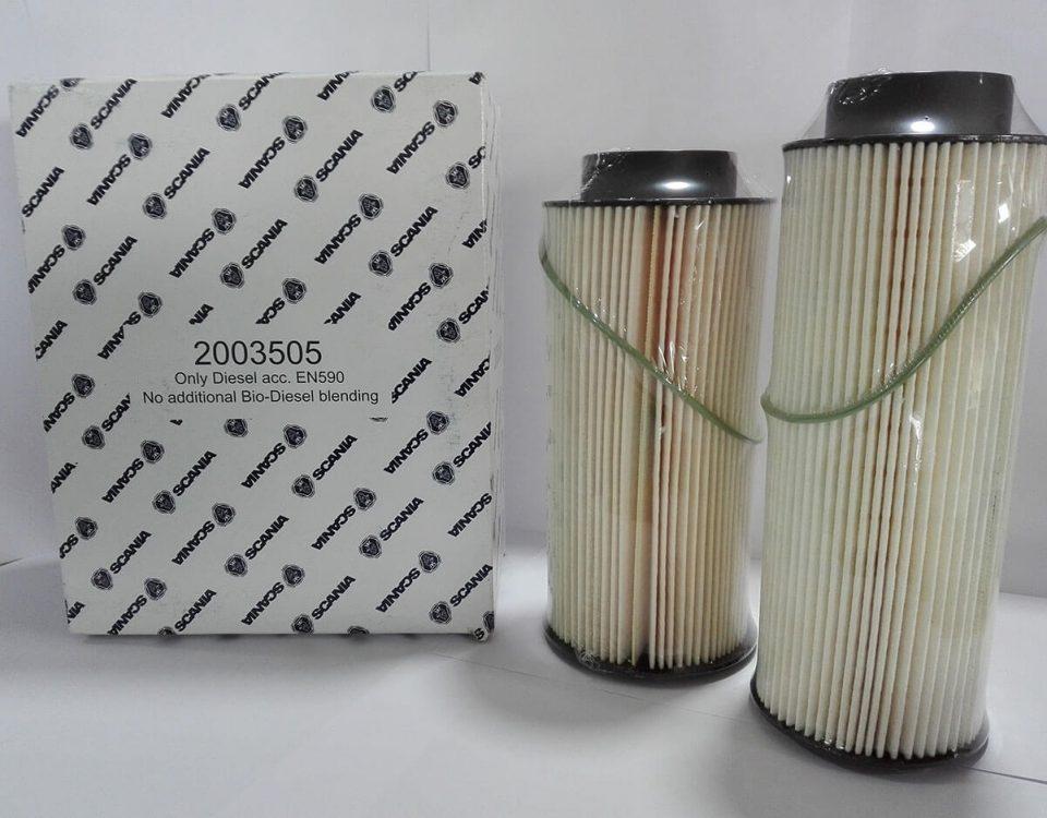 2003505 SCANIA filtro combustible SCAORTIZ recambios 960x750 - Filtros de combustible. Sus funciones y cómo evitar averías en tu camión