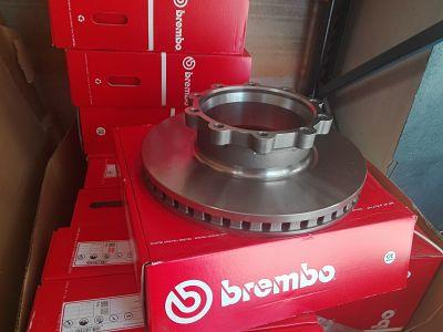 1852817 disco de freno SCANIA 1852817 Brembo recambio camión SCAORTIZ - Cuándo cambiar los discos y las pastillas de freno del camión
