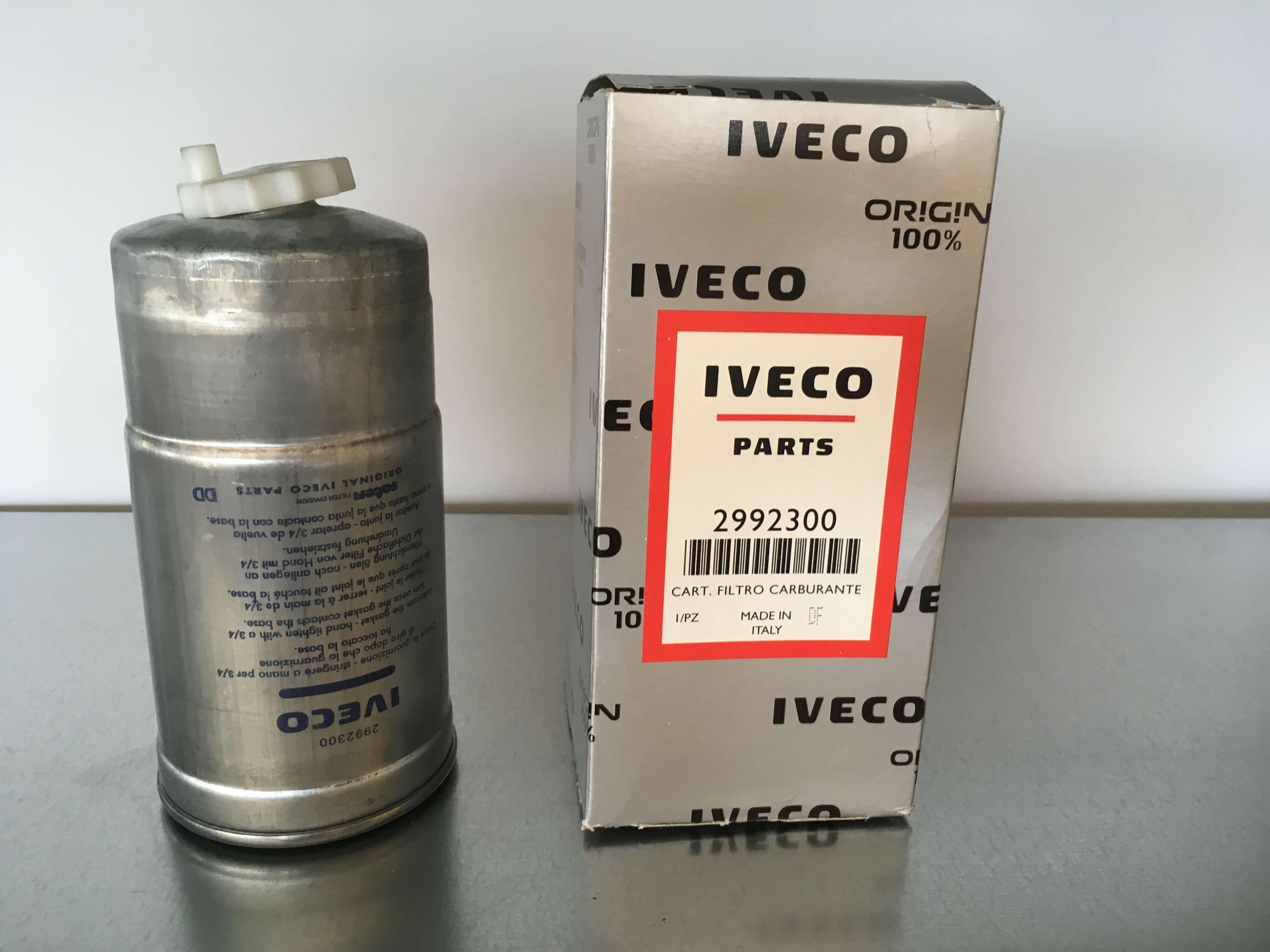 2992300 Filtro combustible IVECO. Venta de recambios para camiones en SCAORTIZ - Filtro combustible IVECO. Referencia 2992300
