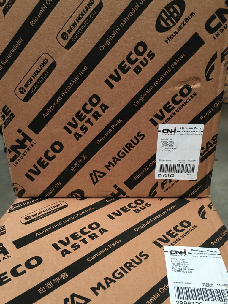 2996126 Filtro de aire IVECO. Recambios originales para camiones en SCAORTIZ - Filtro de aire IVECO. Referencia 2996126