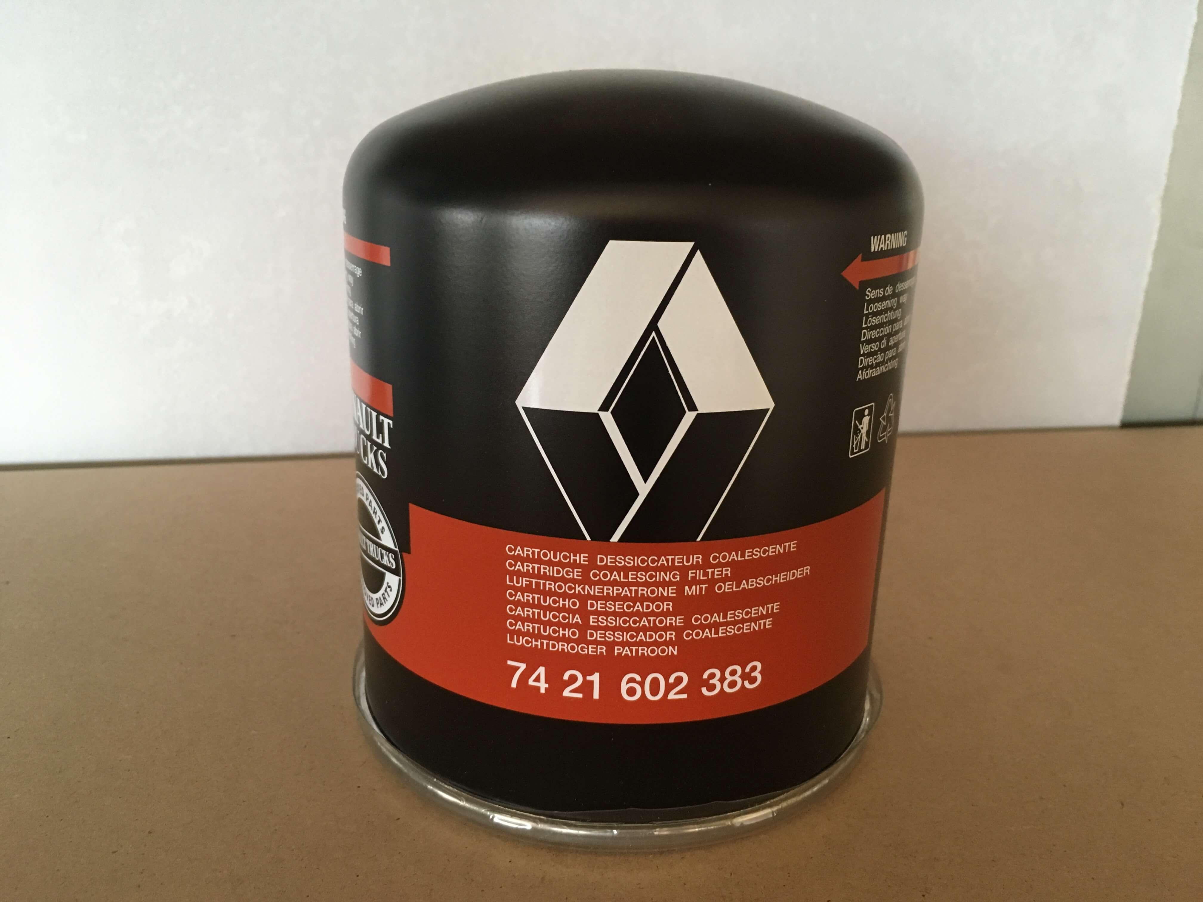 7421602383 Filtro secador Renault. Venta de recambios originales para camión en SCAORTIZ - Filtro secador RENAULT. Referencia 7421602383