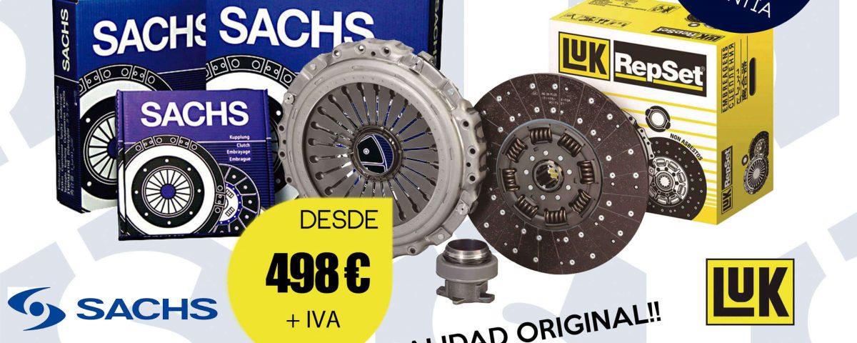 SCAORTIZ Kit de embrague campaña taller en A3 venta de recambios para camiones 1200x480 - Lanzamos una campaña de sustitución del kit de embrague