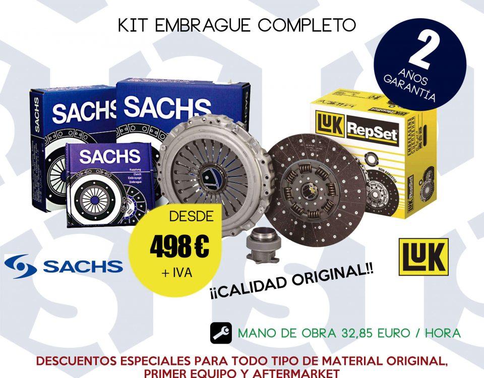SCAORTIZ Kit de embrague campaña taller en A3 venta de recambios para camiones 960x750 - Lanzamos una campaña de sustitución del kit de embrague