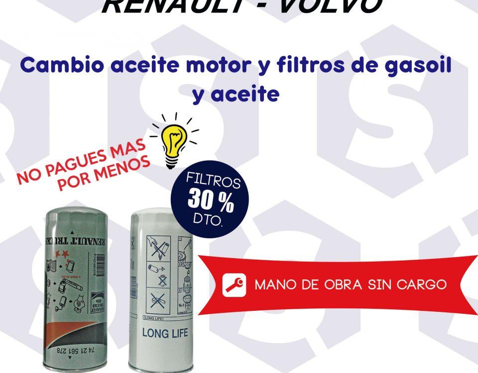 Automotor talleres MAN SCAORTIZ Minglanilla Volvo Renault cambio de aceite motor y filtros gasoil 960x750 - Promoción para el mantenimiento de tu camión Volvo o Renault en SCAORTIZ Automotor