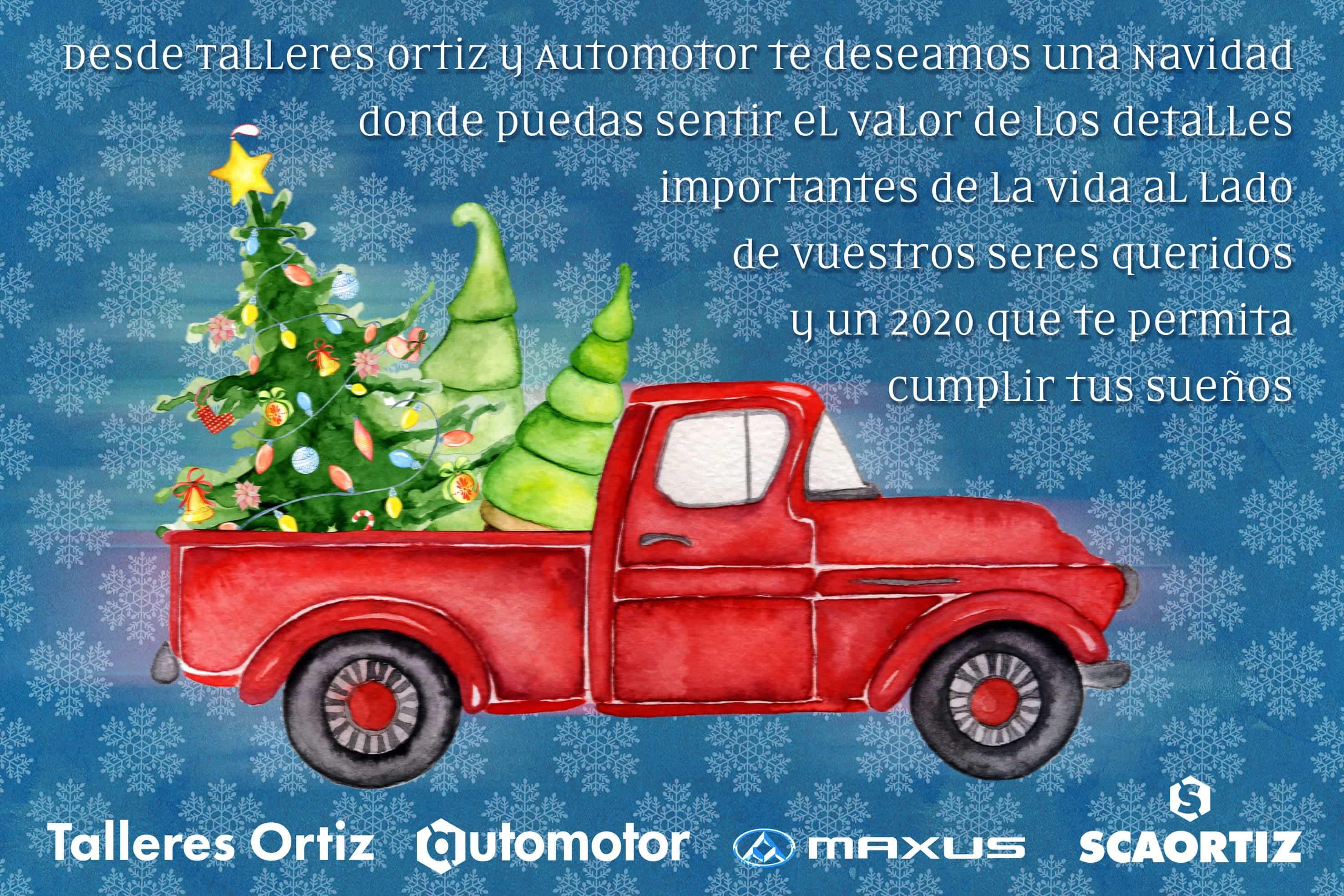Automotor te desea Feliz Navidad y un Feliz 2020